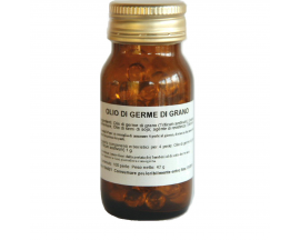 Beads of wheat germ oil